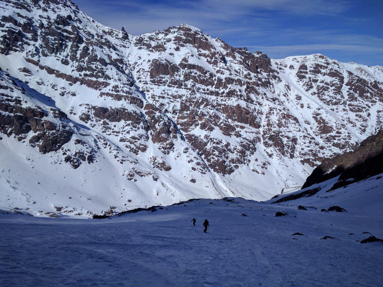 Подъем на вершину горы Тубкала