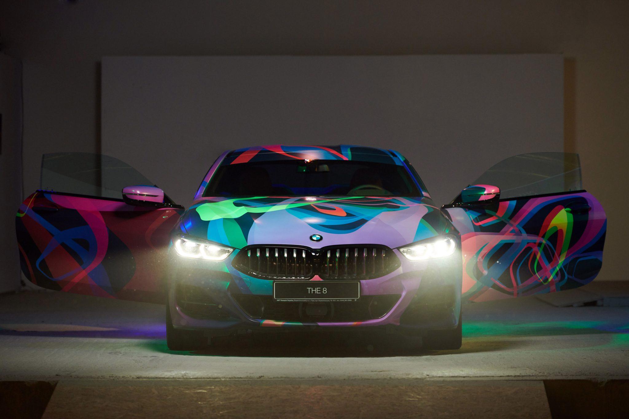 Арт-объект создали на базе спорткара BMW M850і xDrive