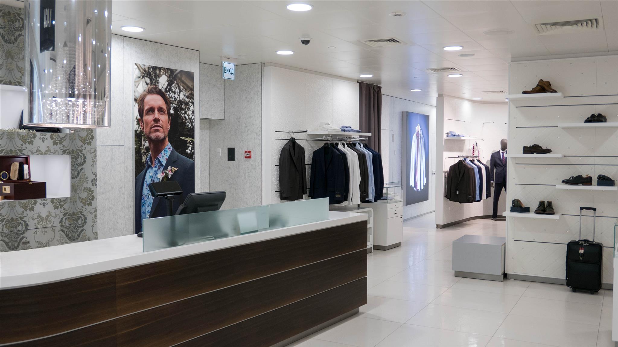 В DN8 Shopping Space действует программа индивидуального пошива