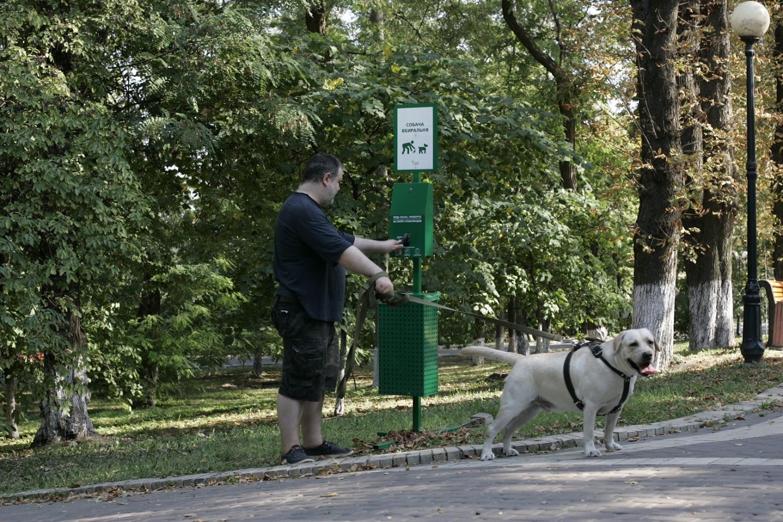 «Собача вбиральня» на улицах Киева
