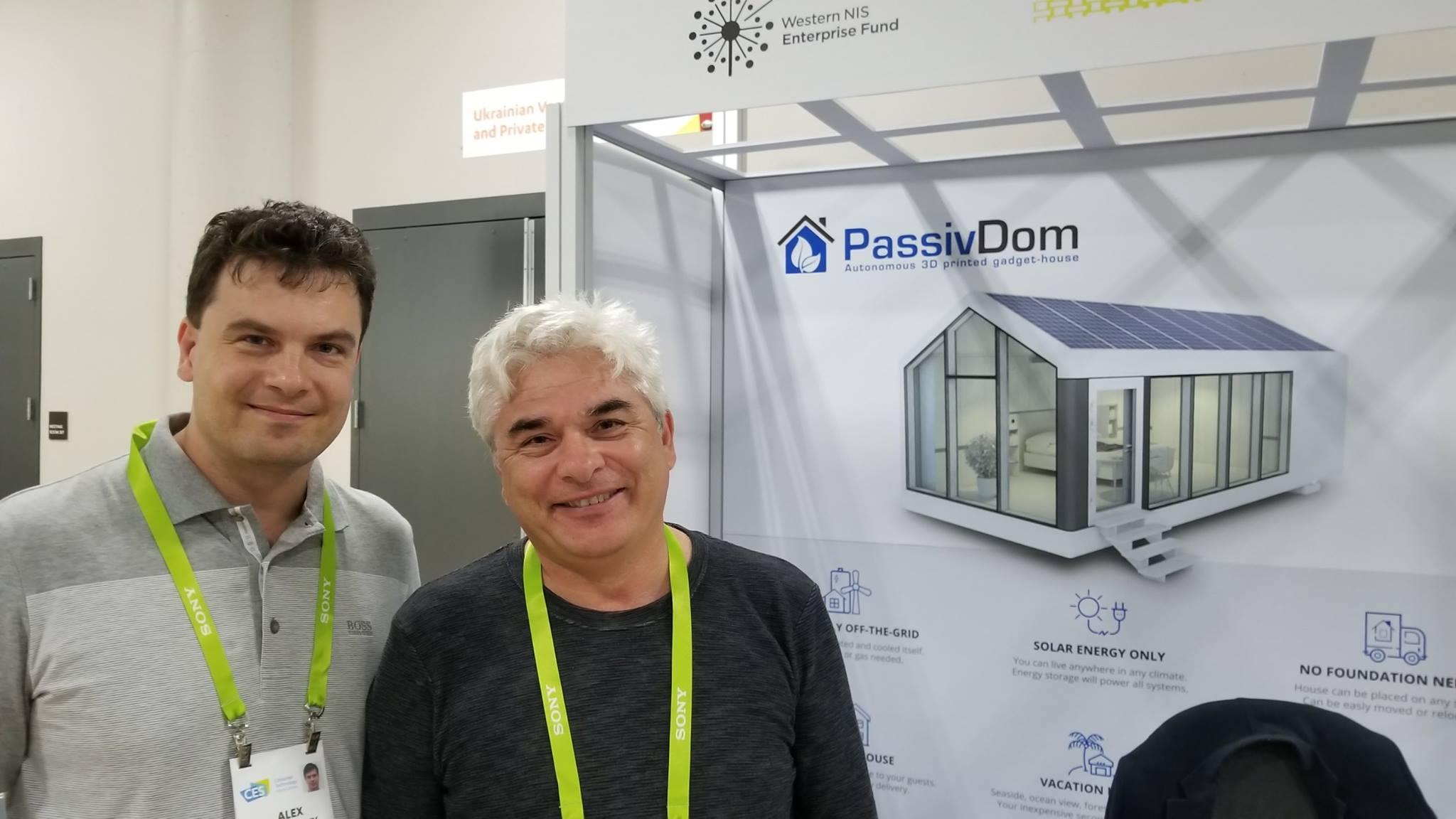 Инвестор проекта Алекс Ильницкий и его отец – Сергей Ильницкий