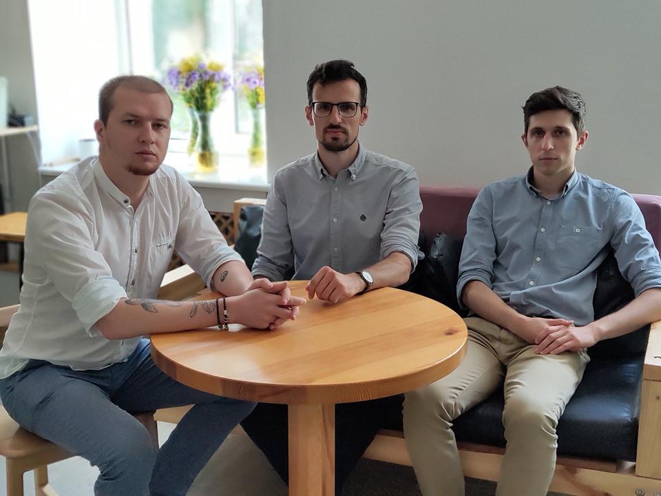 Иван Пасечник, Александр и Антон Дятловы.