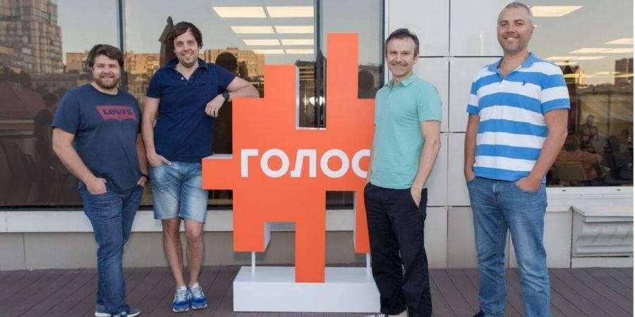 Александр Косован, Андрей Логовин и Андрей Левчук