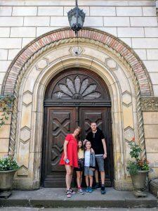 Марк Тульчинский с семьей