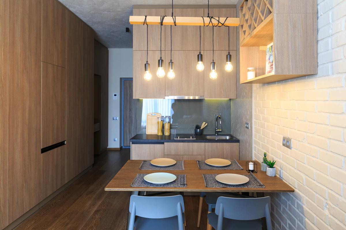 Квартиры с дизайном и мебелью в Standard One