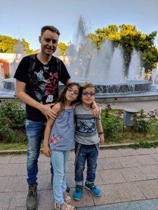 Марк Тульчинский с детьми
