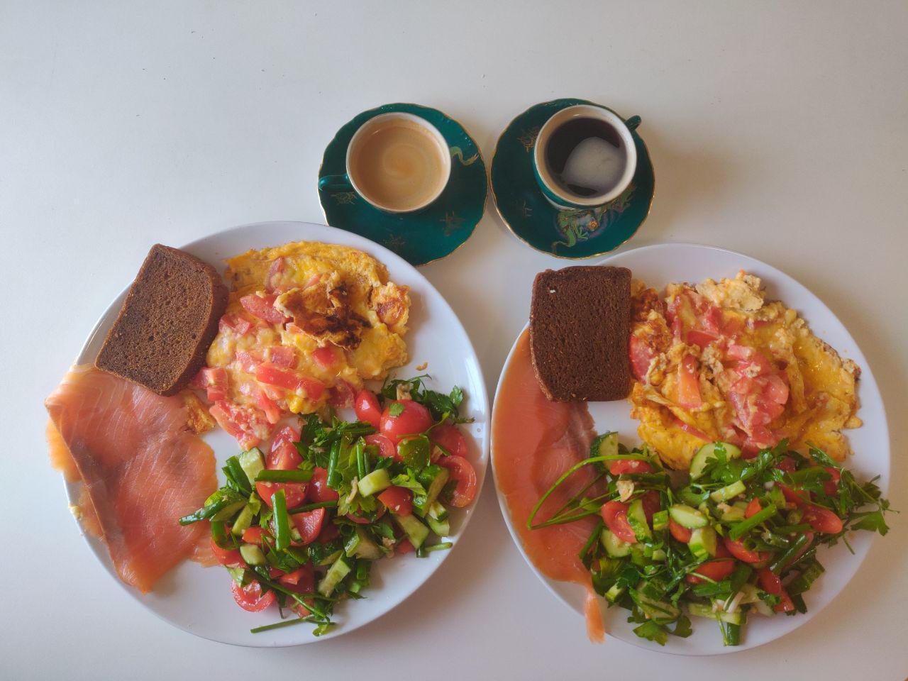 Завтрак Веры Черныш