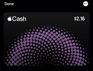 Приложение Apple Cash