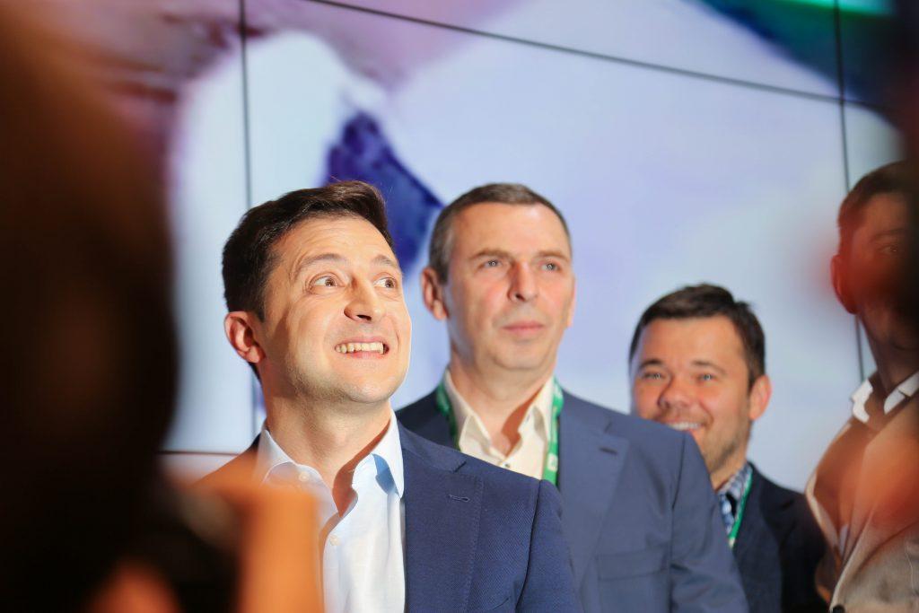 Владимир Зеленский, Сергей Шефир, Андрей Богдан