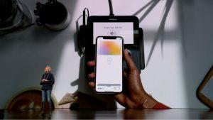 Фото с презентации Apple Pay