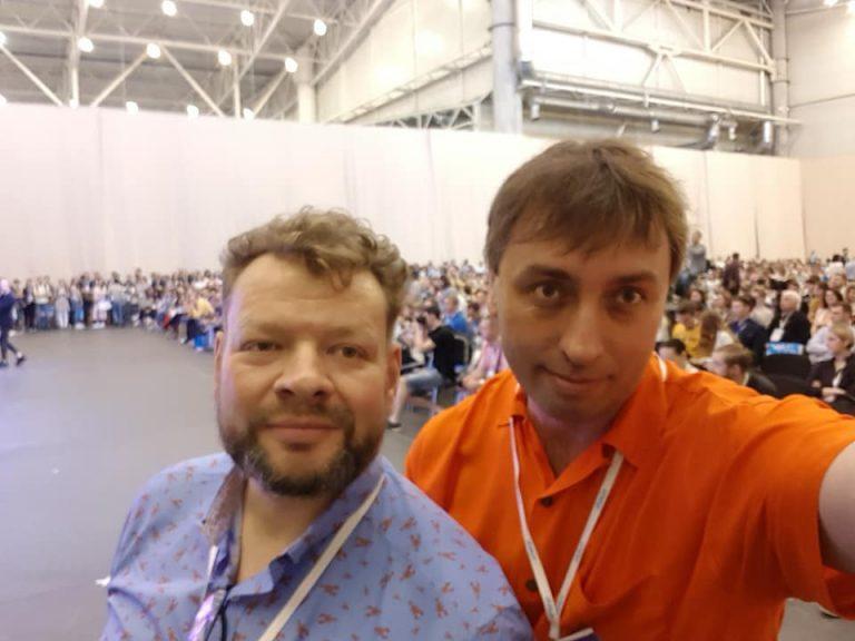 Алексей Мась и Петр Чернышев