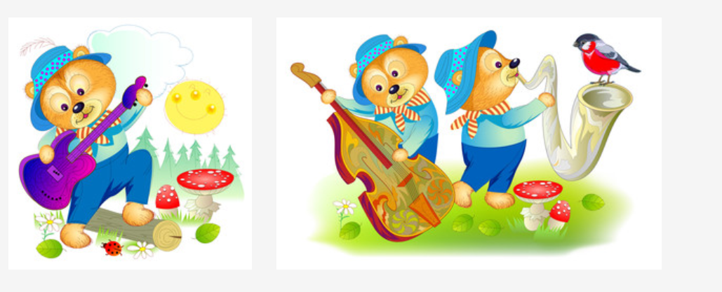 Три медведя играют джаз