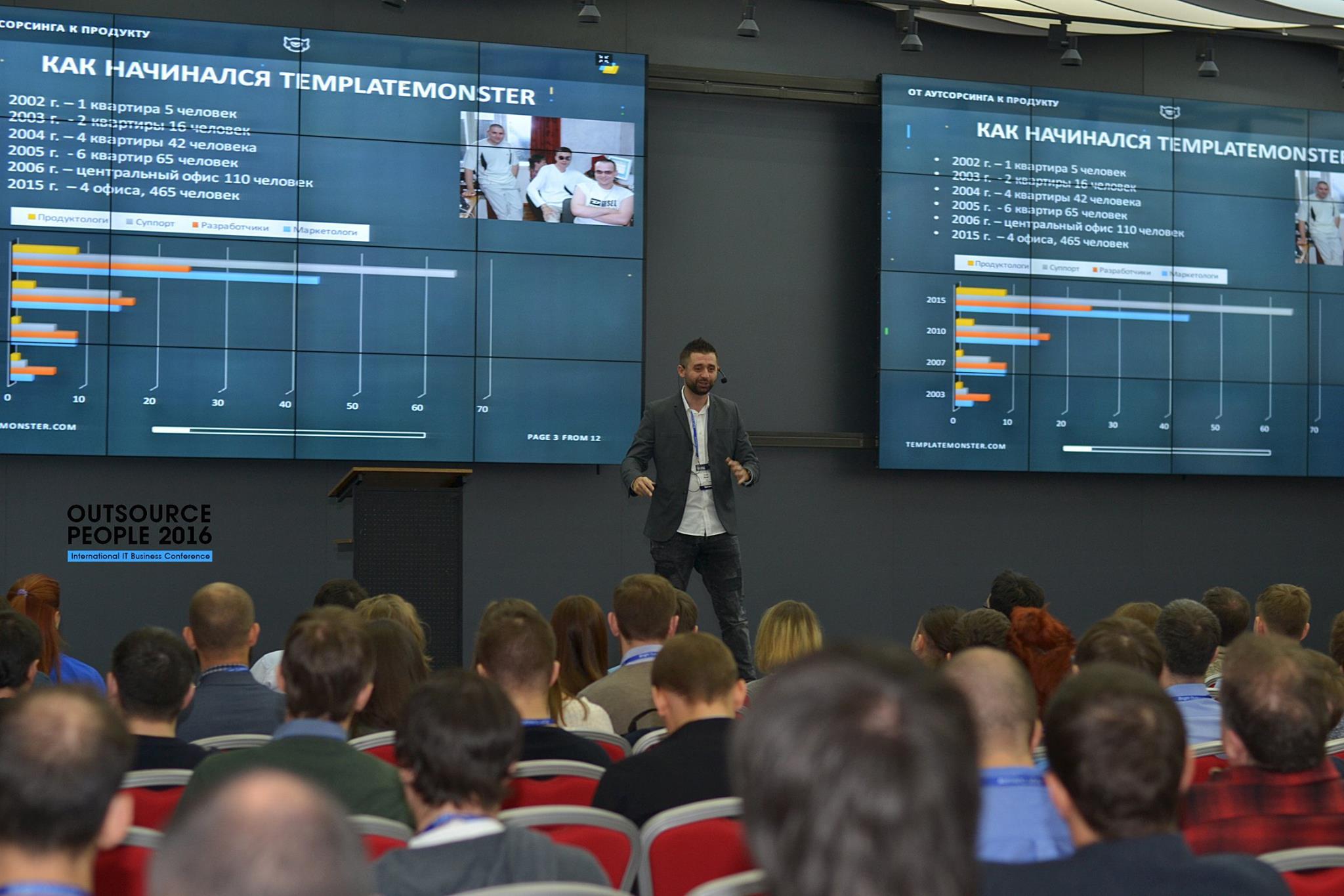 Outsource People 2016 в Киеве