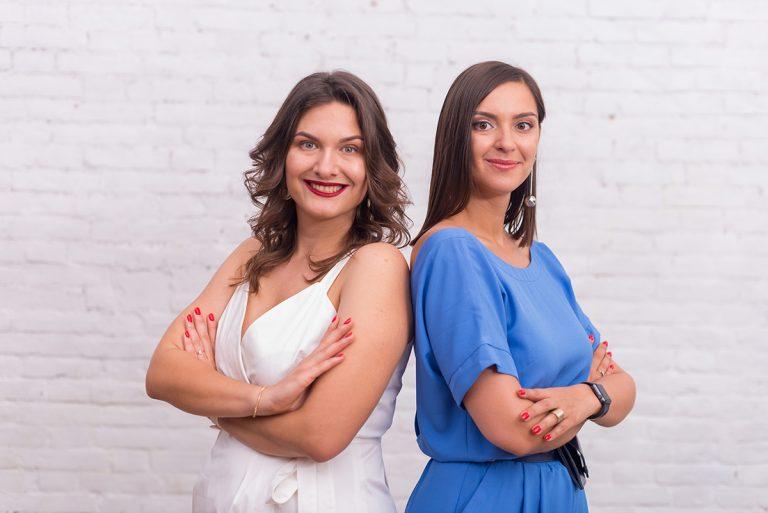 Екатерина Дорошевская и Алина Щербина, основатели «БУДЬ в UA»