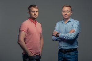 Алексей Щеглов и Сергей Гашков