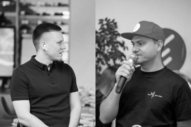 Артур Лупашко (слева), Кирилл Соляр (справа)