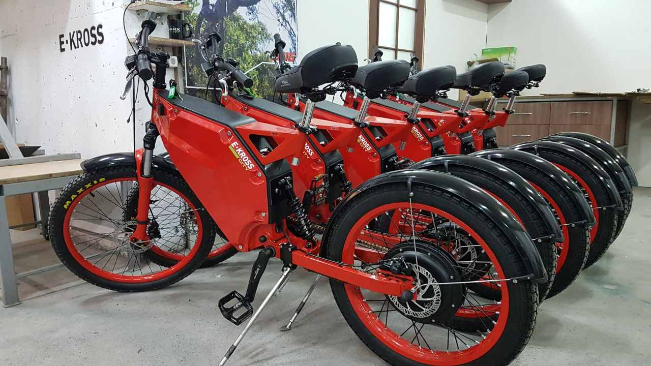 Электровелосипеды E-Kross