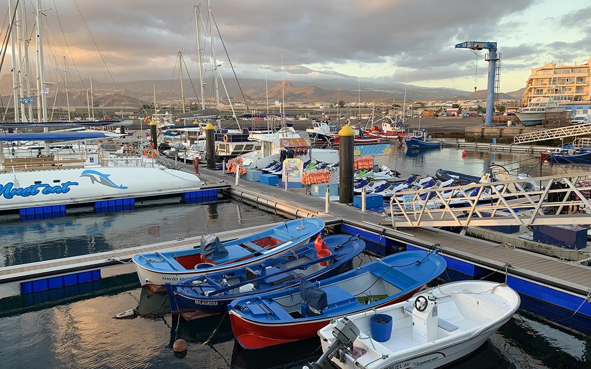 Новогодний яхтинг на Тенерифе
