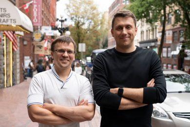 Сооснователи Grammarly — Макс Литвин и Алексей Шевченко