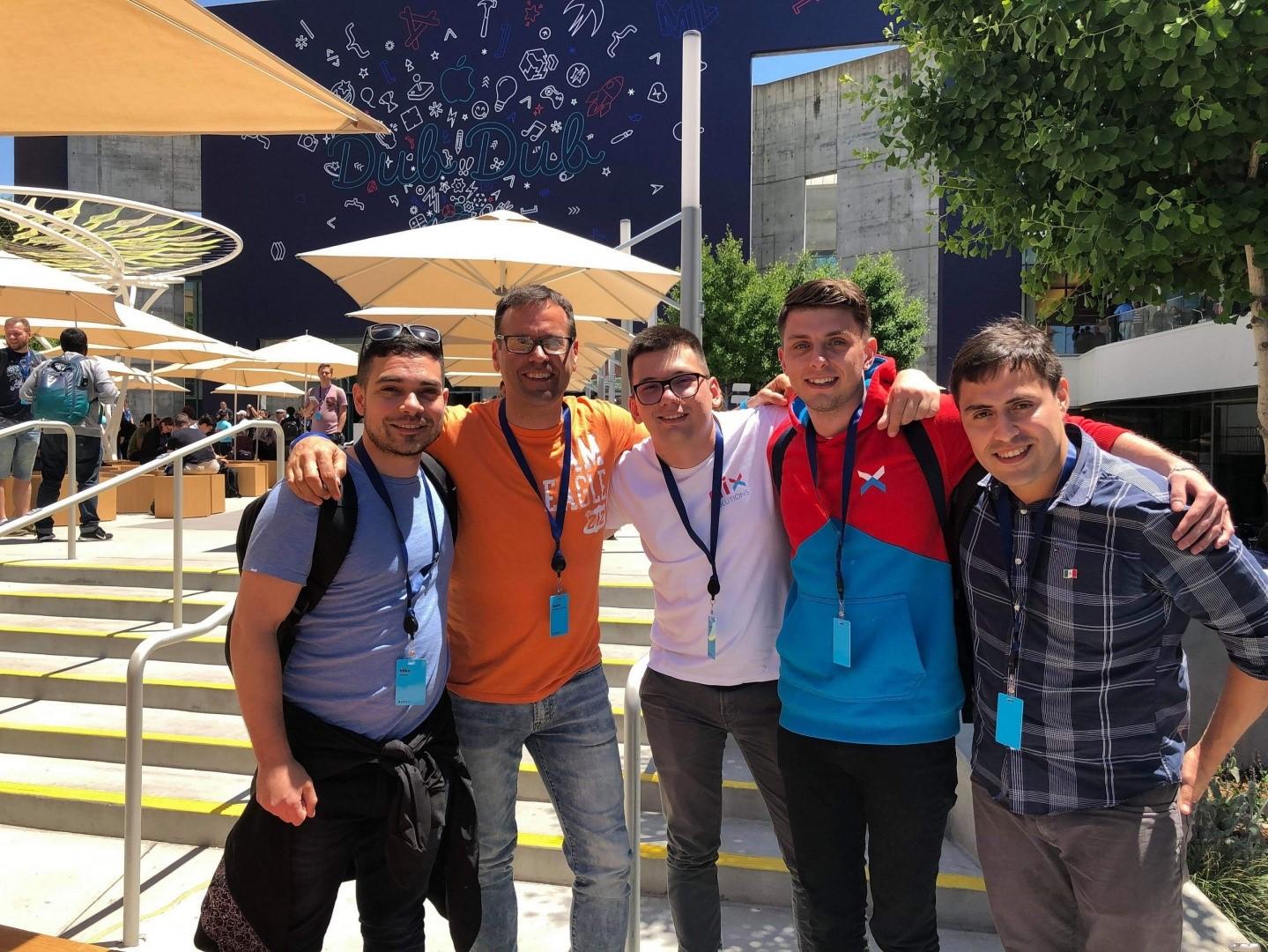 Счастливчики из NIX на WWDC 2019