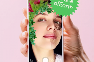 Как в Crello запустили эко-маску в Instagram и получили 100 тыс. просмотров