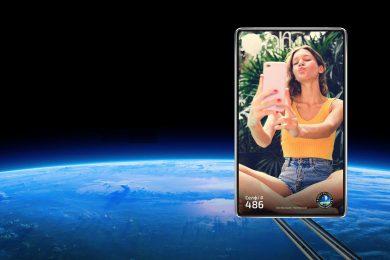 Украинский стартап Strato Ukraine обвинил Samsung в краже идеи – делать селфи в космосе