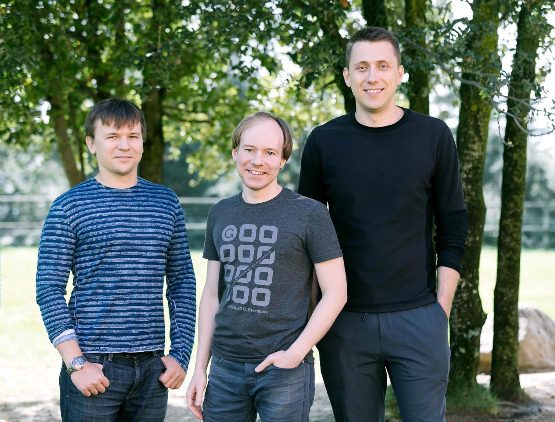 Алексей Шевченко, Максим Литвин и Дмитрий Лидер