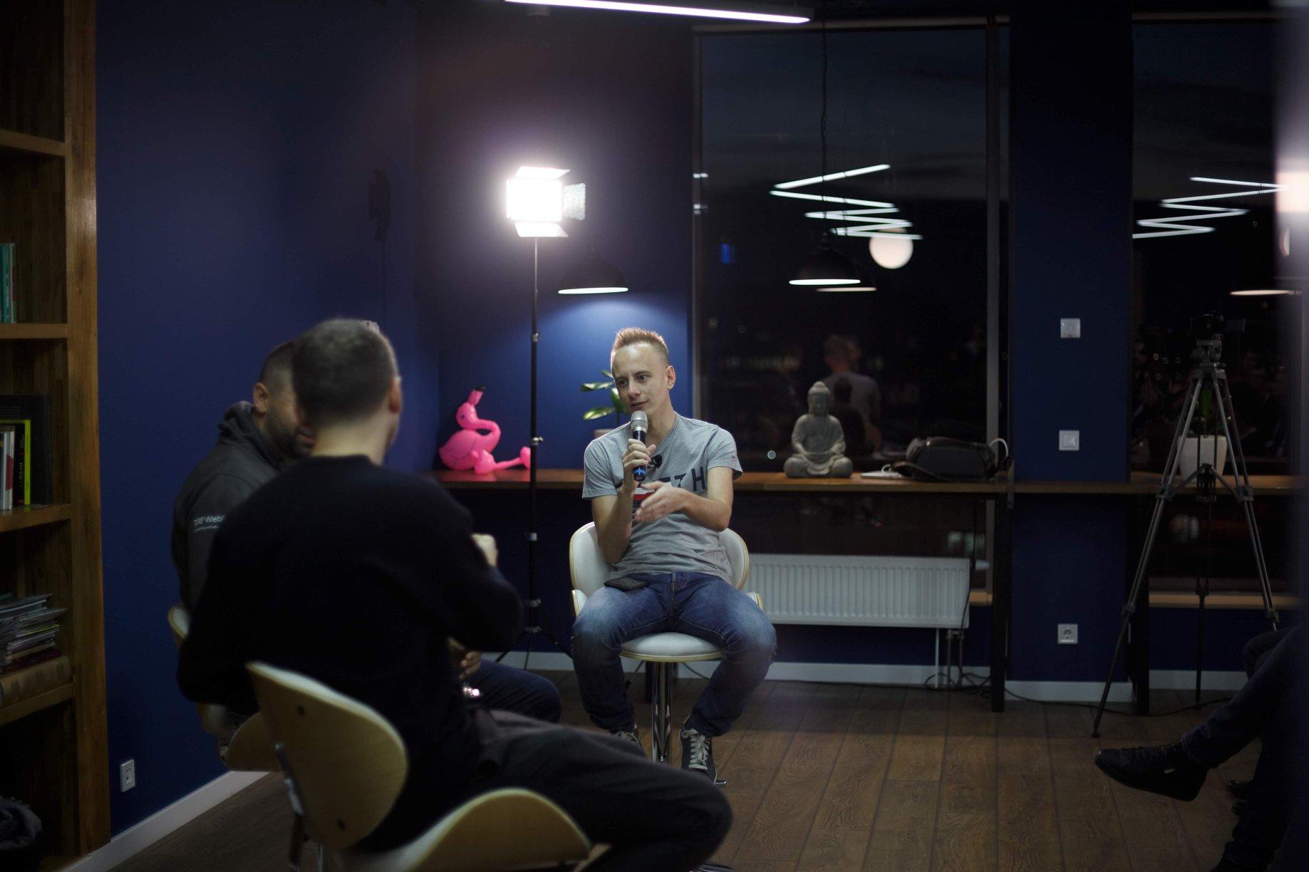 Вечеринка YouTube-канала «Точка G» в Киеве