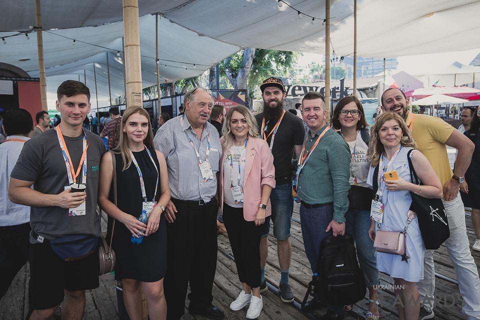 Константин Васюк та учасники Israel Tech Tour