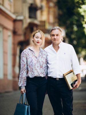 Дарья Антоненко с отцом