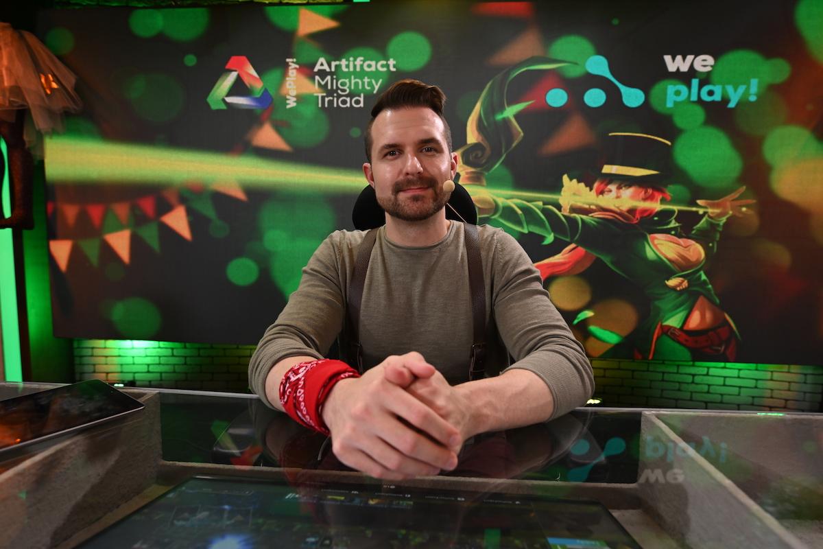 Оформление сцен и студий на турнирах WePlay!