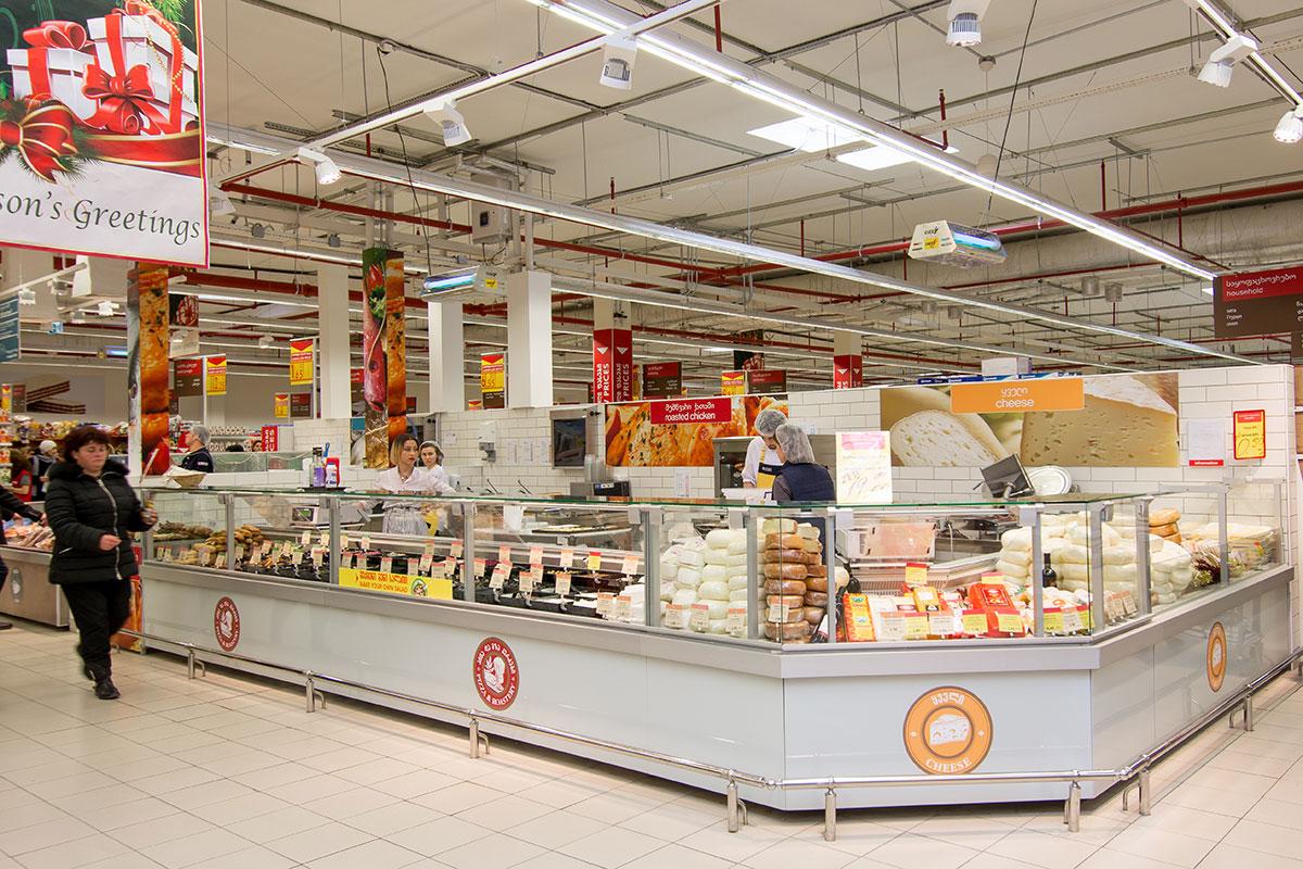 Оборудование компании «Айсберг» в сети Carrefour