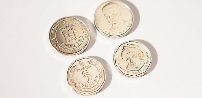 В НБУ показали, как будут выглядеть новые монеты по 5 и 10 грн.