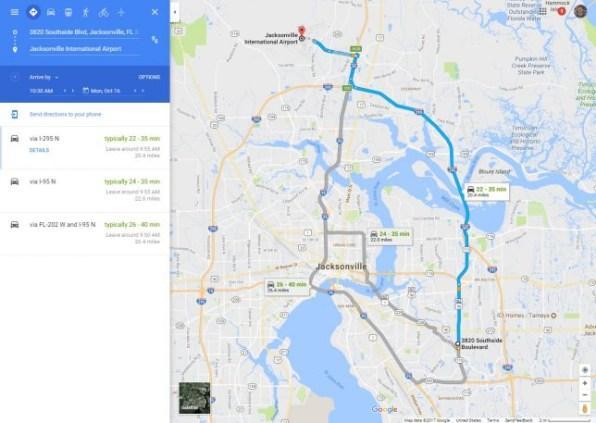 Инструмент оценки движения транспорта в Google Картах поможет вам рассчитать время, необходимое для поездки, во сколько нужно выехать, даже если вы собрались ехать не прямо сейчас