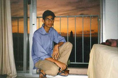 Сундар в студенческом общежитии Стэнфорда