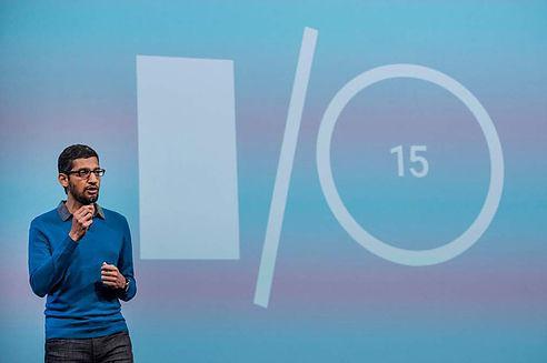 Сундар Пичаи на конференции Google IO 2015