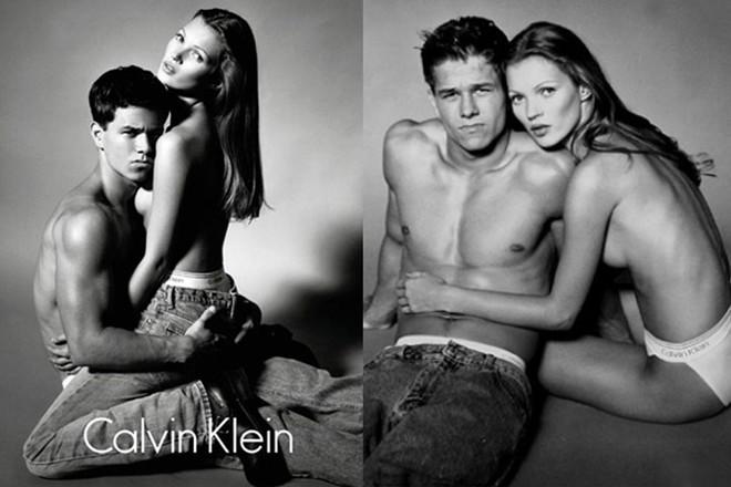 Рекламные кампании Calvin Klein. Источник фото: ELLE