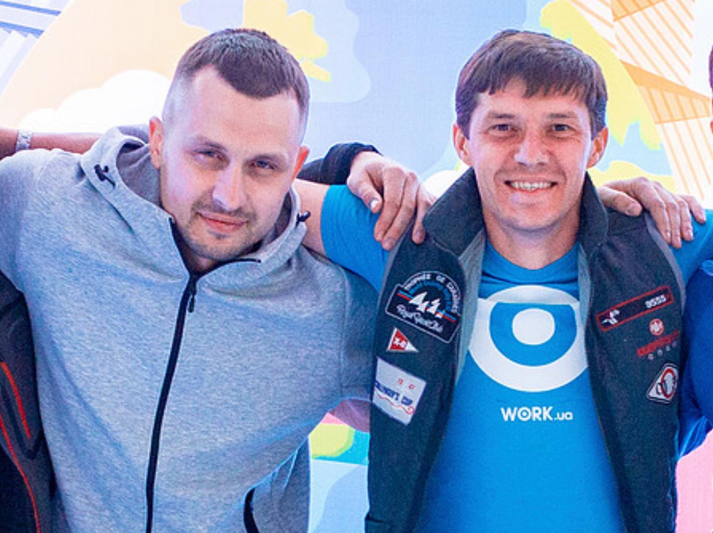 Артур Михно и Андрей Боровик, Work.ua