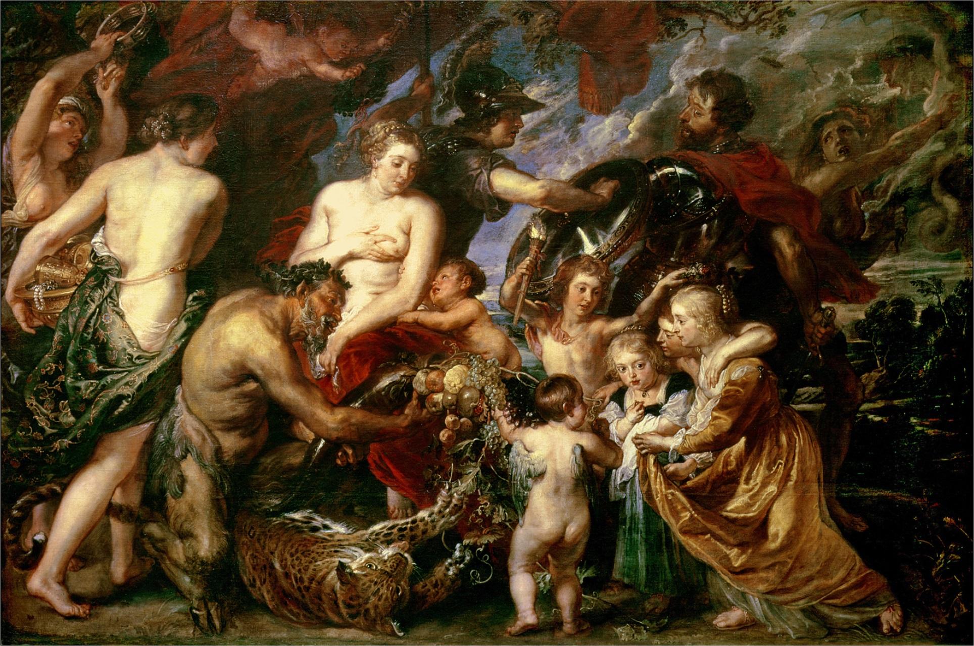 Картина «Война и мир» Питера Пауля Рубенса. Источник фото: Wikimedia Commons