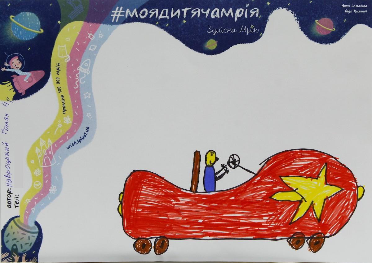 Рисунки с марафона #моядитячамрія