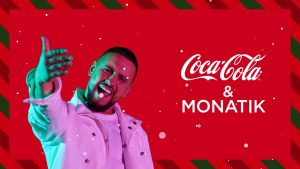 Дима Монатик в новогодней кампании Coca-cola