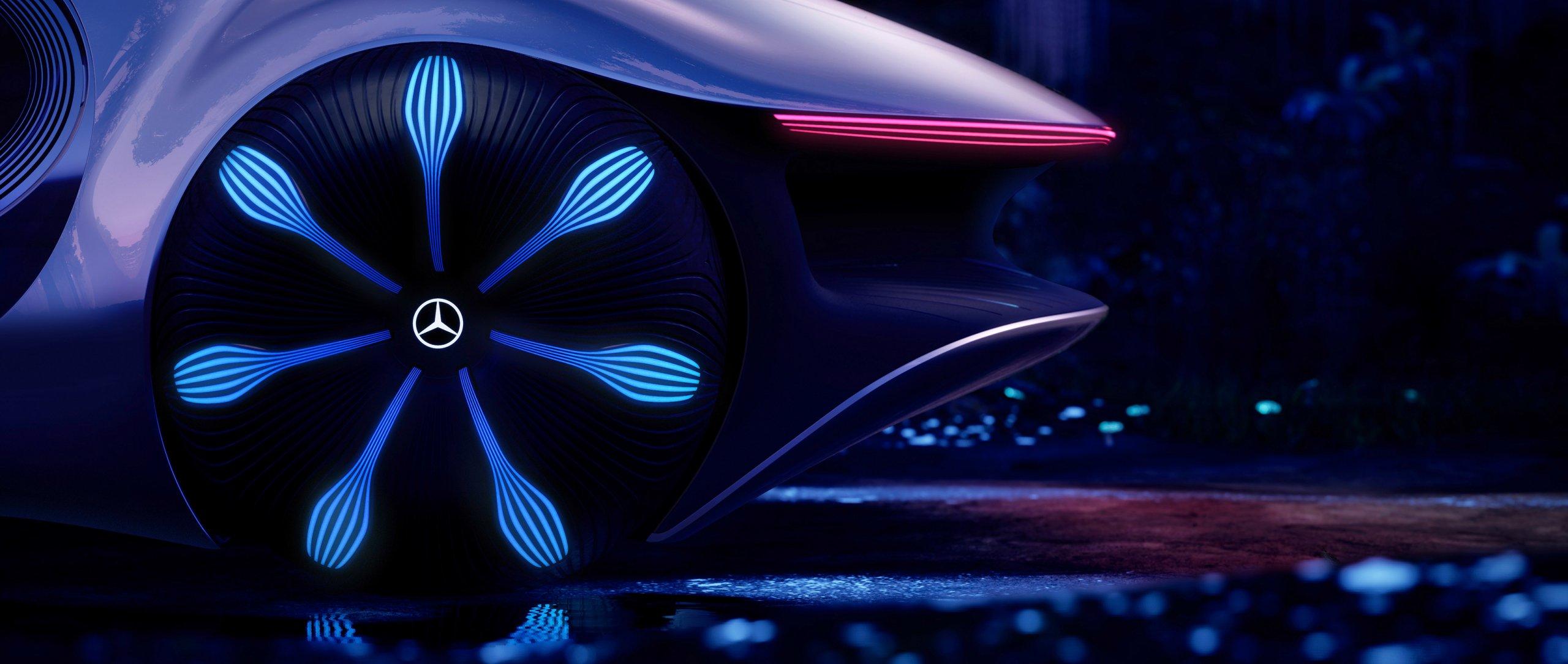 Электрокар VISION AVTR. Фото: mercedes-benz.com