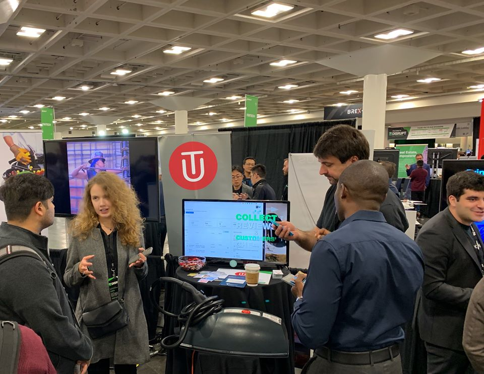 Технологічна конференція TechCrunch Disrupt. Джерело фото: офіційна сторінка додатку у Facebook