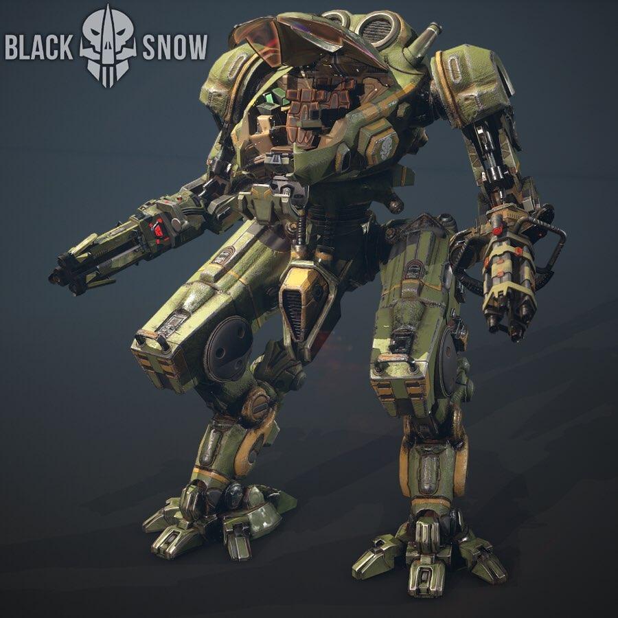 Персонаж Black Snow. Источник фото: Sigma Software