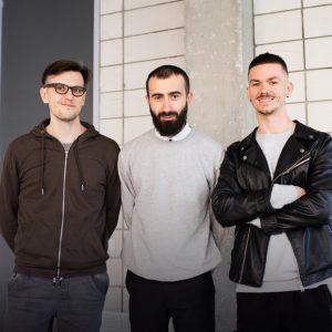 Николай Балабан, Марк Ливин и Андрей Баштовый. Фото: личная страница Марка Ливина в Facebook