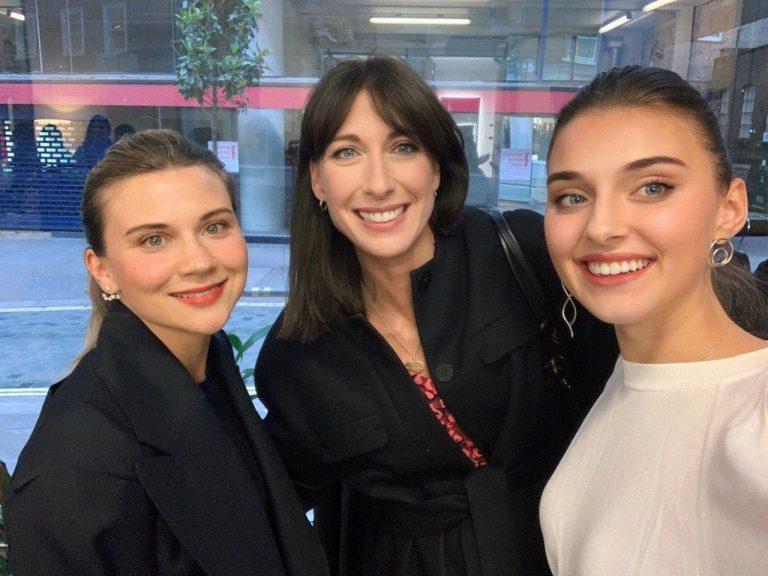 Дарья Партас, Саманта Кэмерон и Вероника Дидусенко