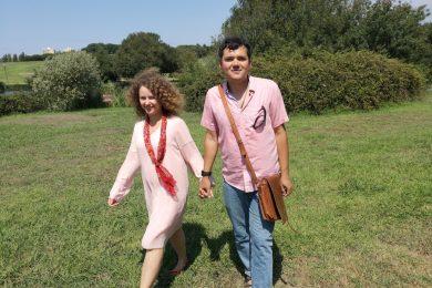 Вера Черныш и Тимур Ворона