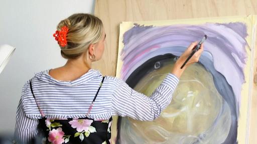 Кристина Кониг Коерсен бросила работу в рекламе, потому что не была там счастлива. Теперь она учится рисовать. Фото: CNBC Make It