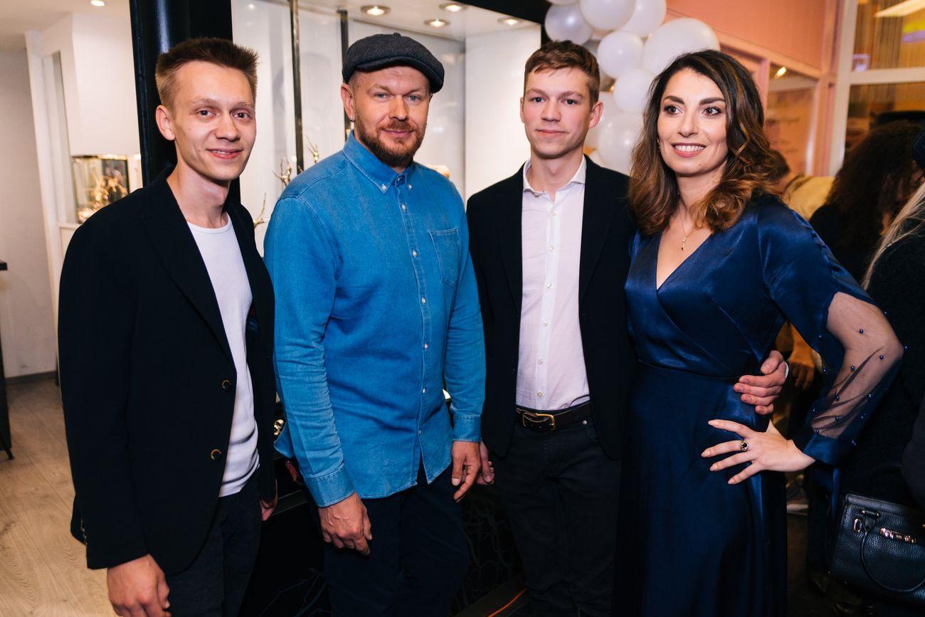 Відкриття шоуруму у Відні