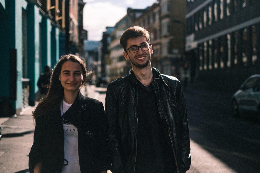 Основатели Лиза Дзюба и Ахмет Сулейман. Источник фото: личный архив